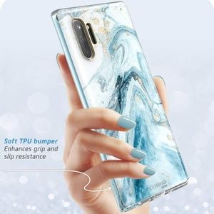 Samsung Galaxy Note 10 case blue marble